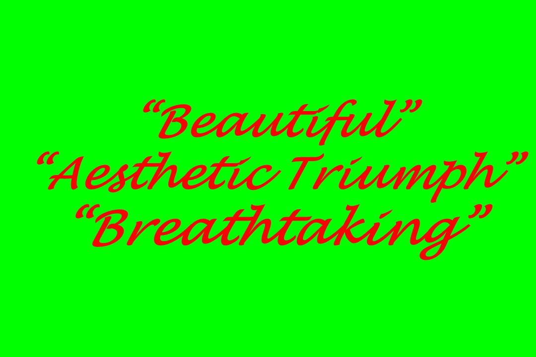 Beautiful Aesthetic Triumph Breathtaking