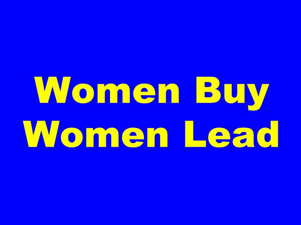 Women Buy Women Lead