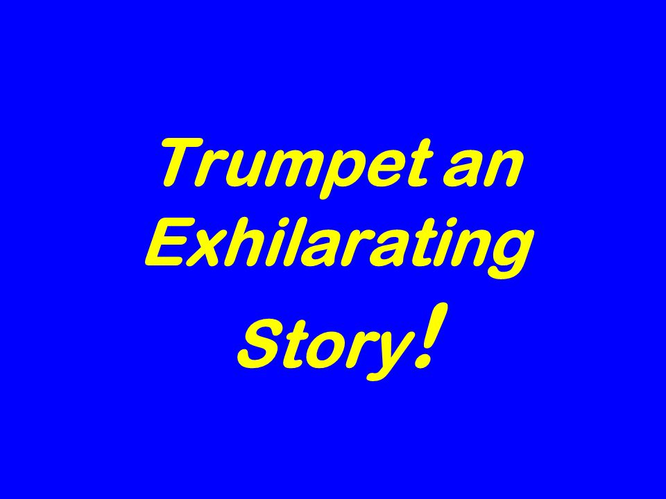 Trumpet an Exhilarating Story !