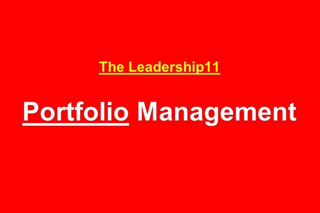 The Leadership11 Portfolio Management