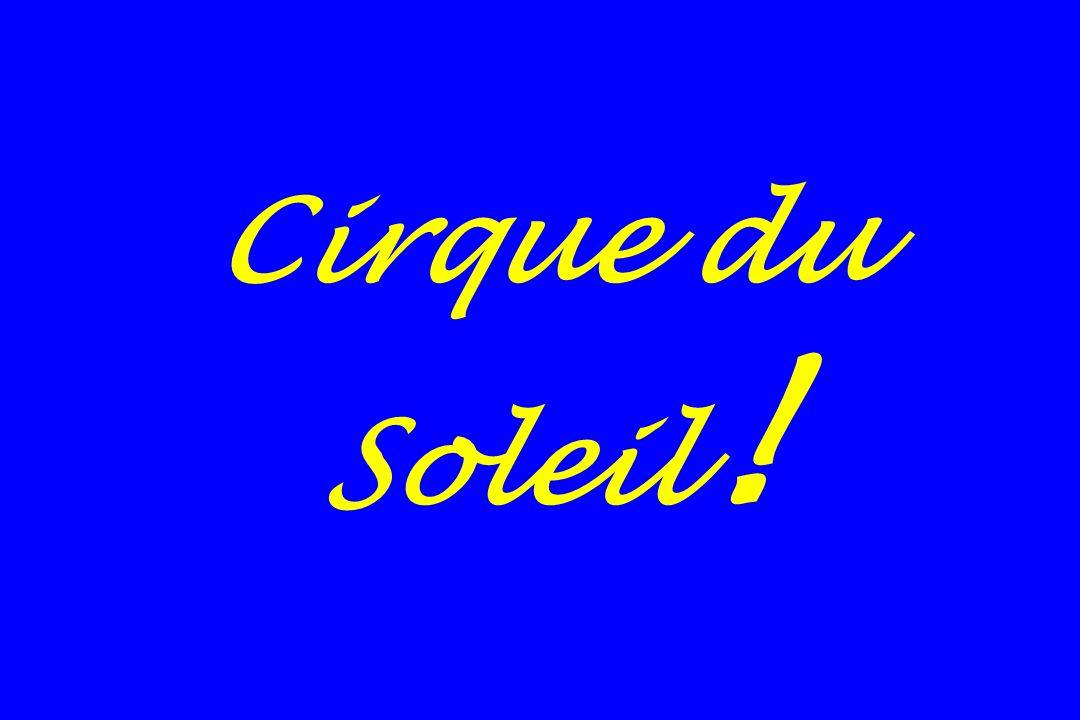 Cirque du Soleil !