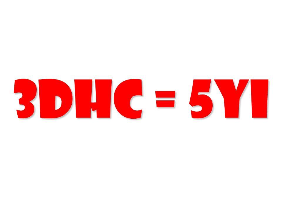3DHC = 5YI