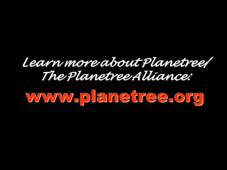 Learn more about Planetree/ The Planetree Alliance: www.planetree.org