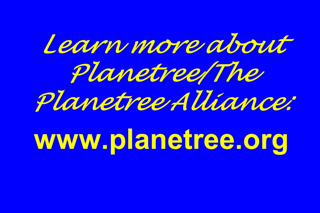 Learn more about Planetree/The Planetree Alliance: www.planetree.org