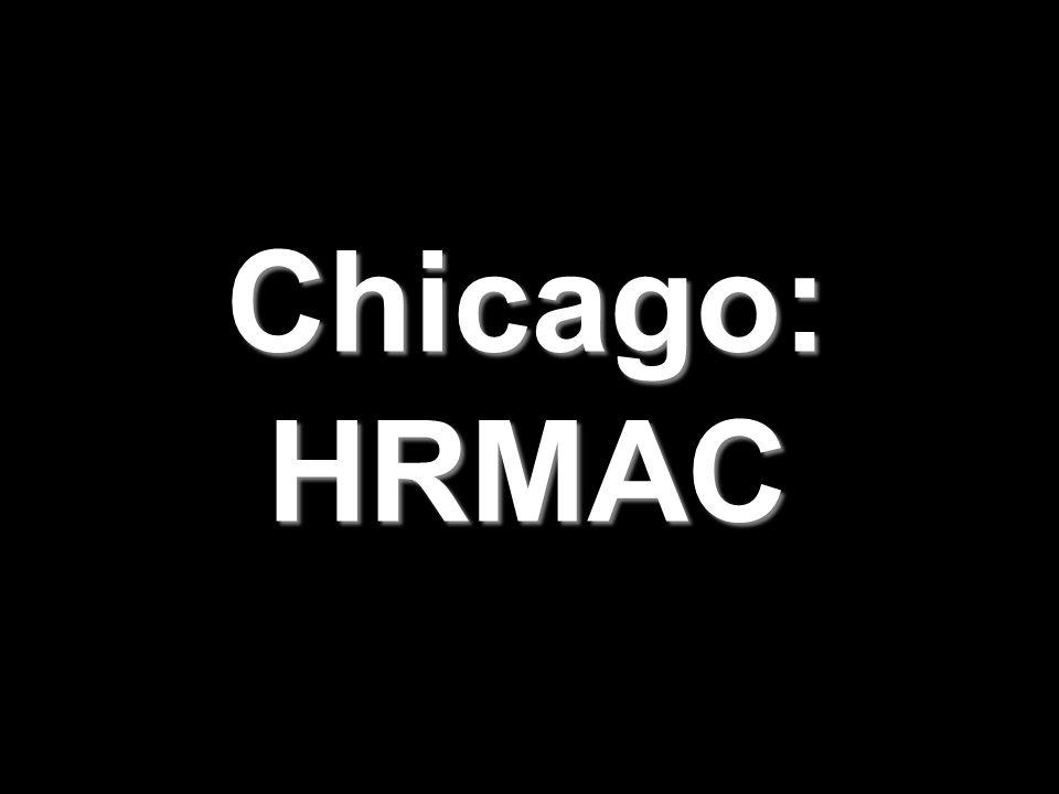Chicago: HRMAC