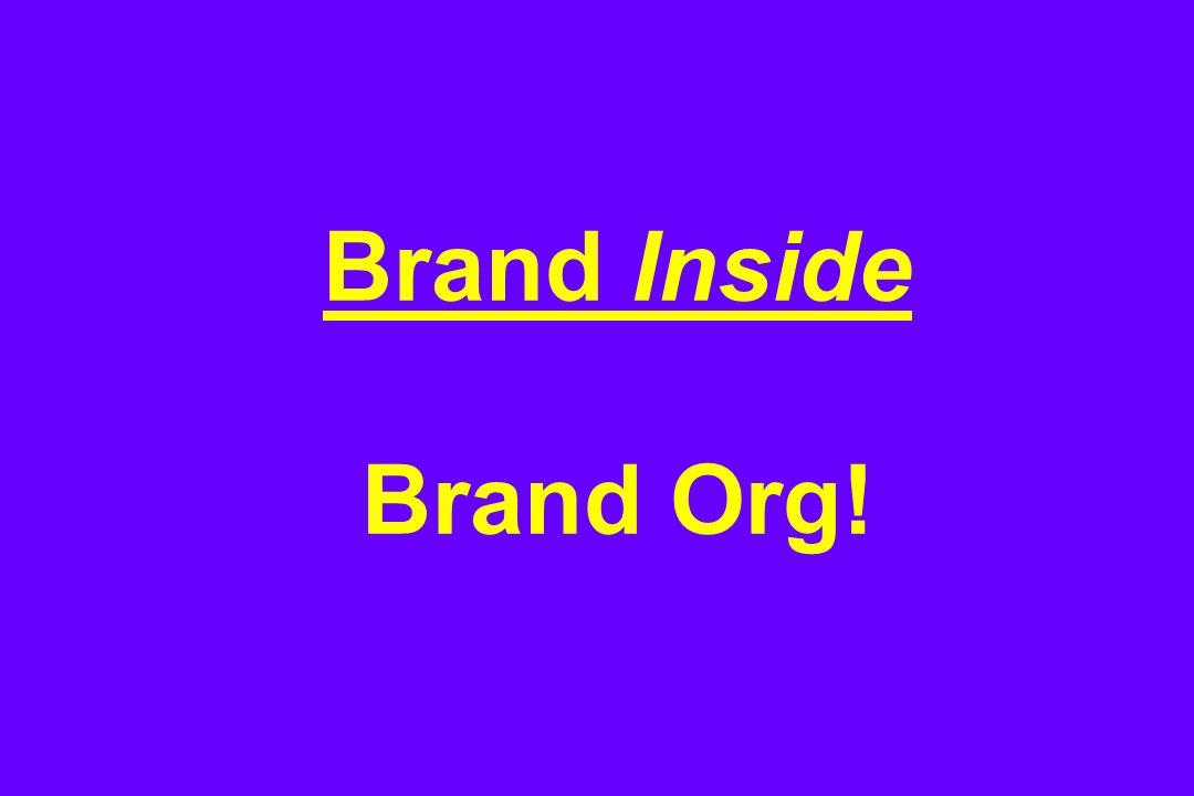 Brand Inside Brand Org!