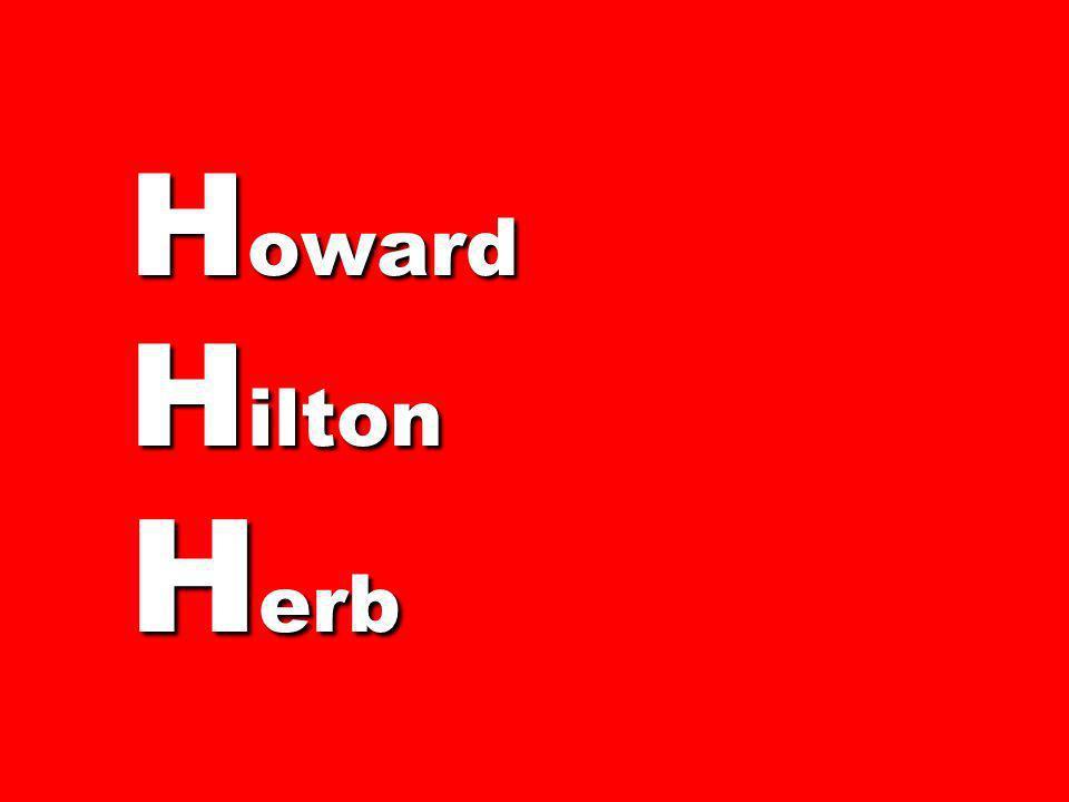 H oward H ilton H erb