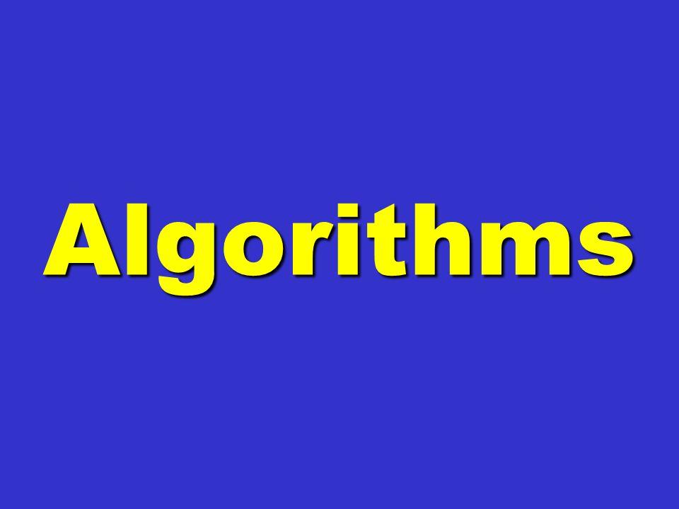 Algorithms Algorithms