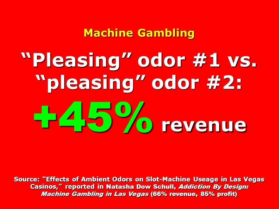 Machine Gambling Pleasing odor #1 vs.