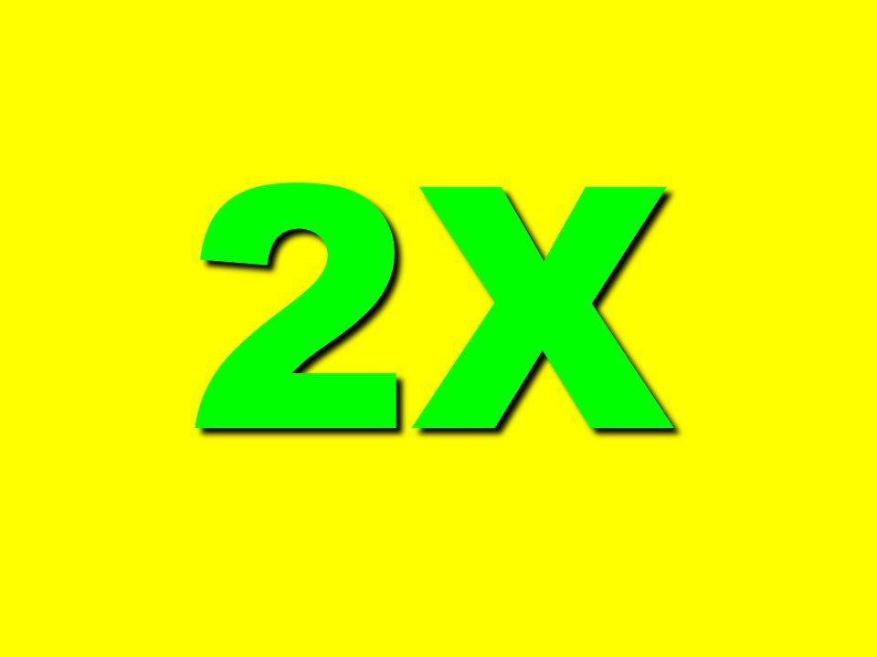 2X 2X