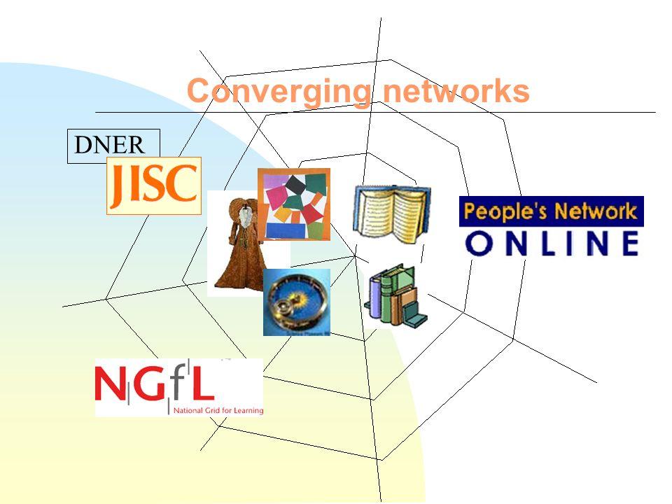 Converging content