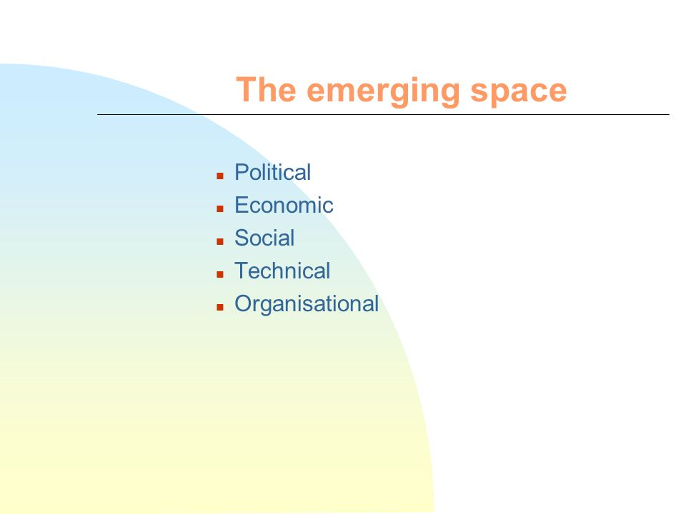 Introduction n Shaping the future space n Museums in the future space n Conclusions