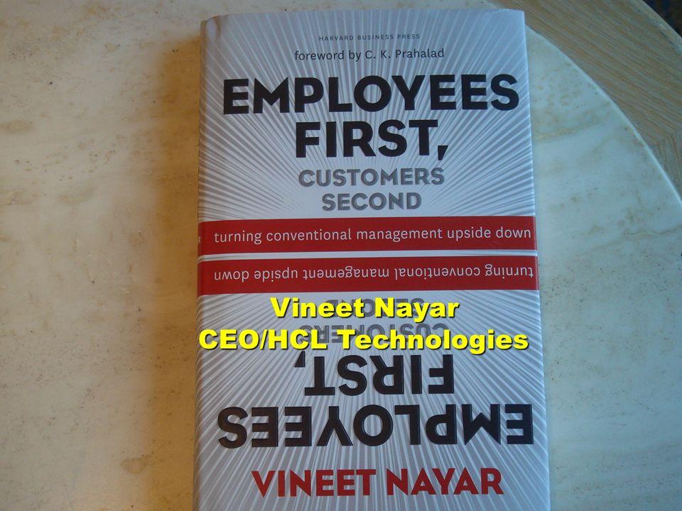 Vineet Nayar CEO/HCL Technologies