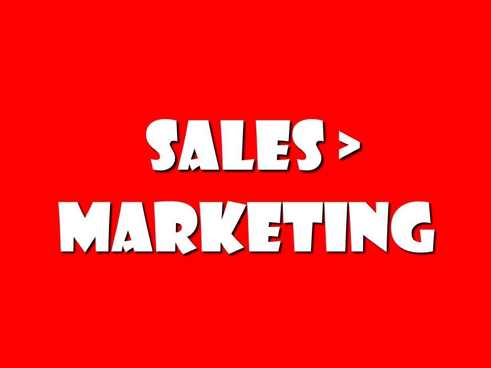 Sales > Marketing Sales > Marketing