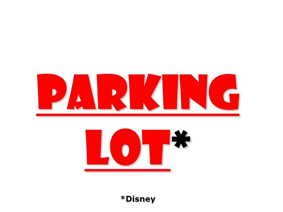 parking lot* *Disney