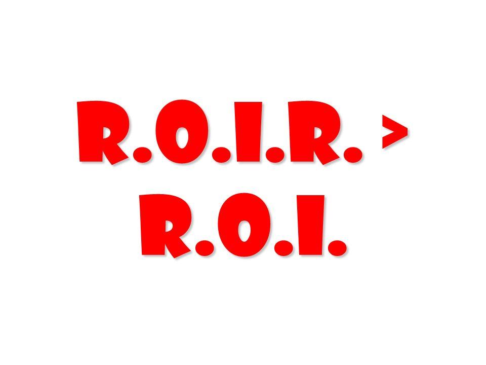 R.O.I.R. > R.O.I.