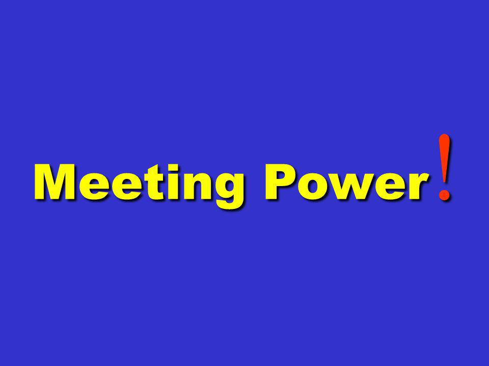 Meeting Power !