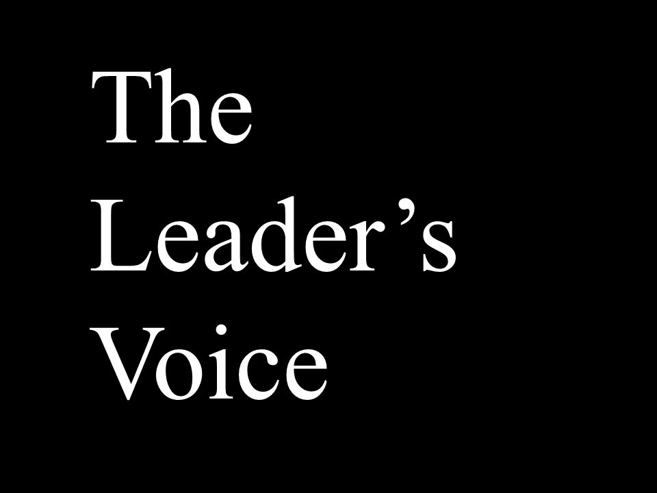 Learning Leadership 40% Family members 26% Teacher or coach 11% Community leader 7% Business leader 4% Political leader 3% Professional athlete 2% Entertainer 7% None/Other/Not sure Source: Public Allies Survey 1998