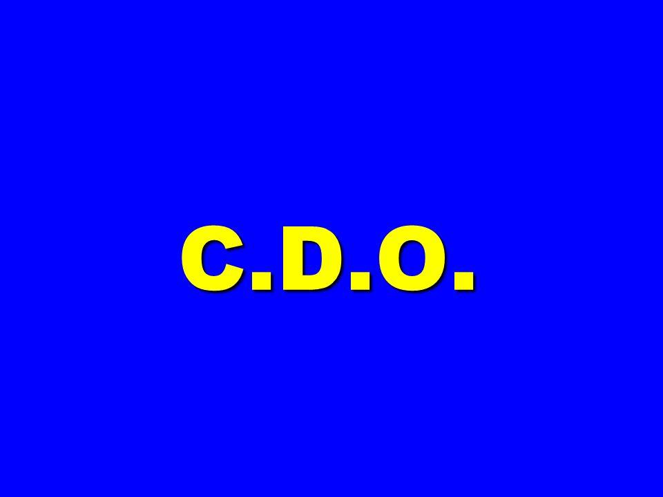 C.D.O.