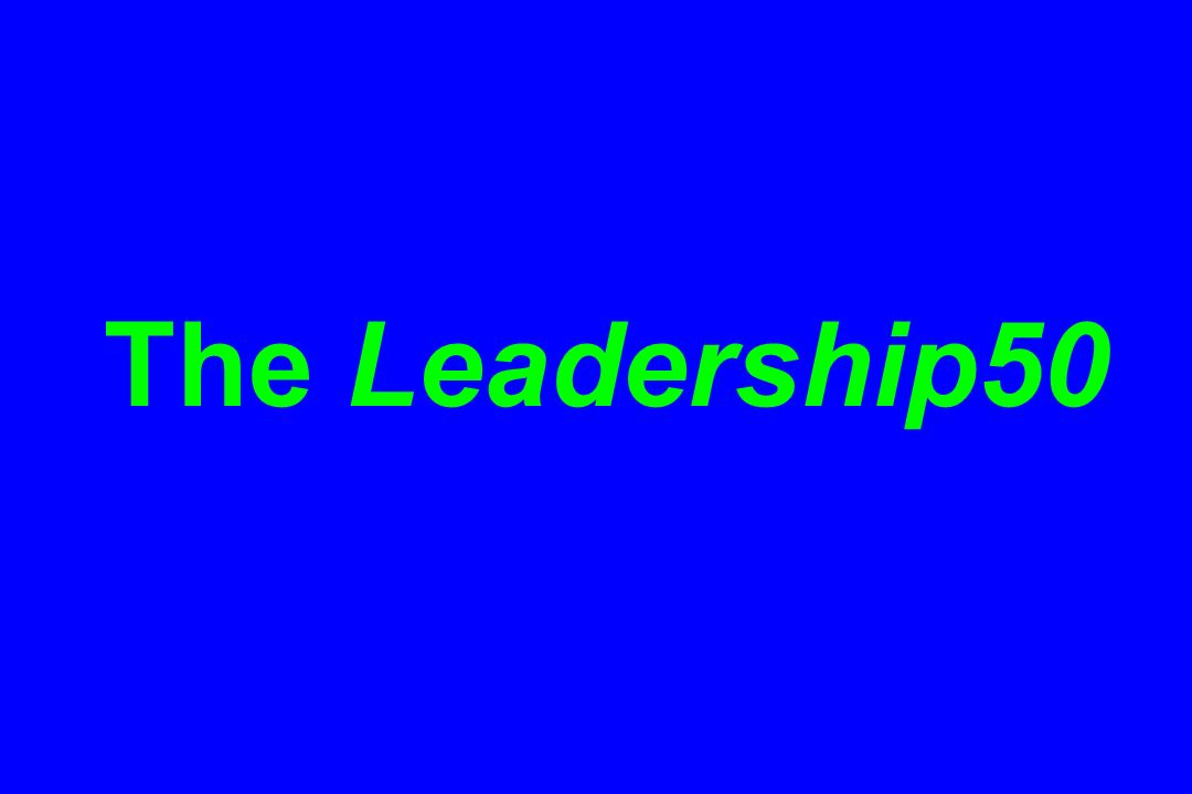 The Leadership50