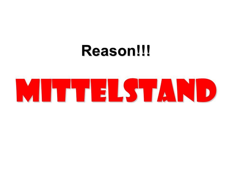 Reason!!! Mittelstand