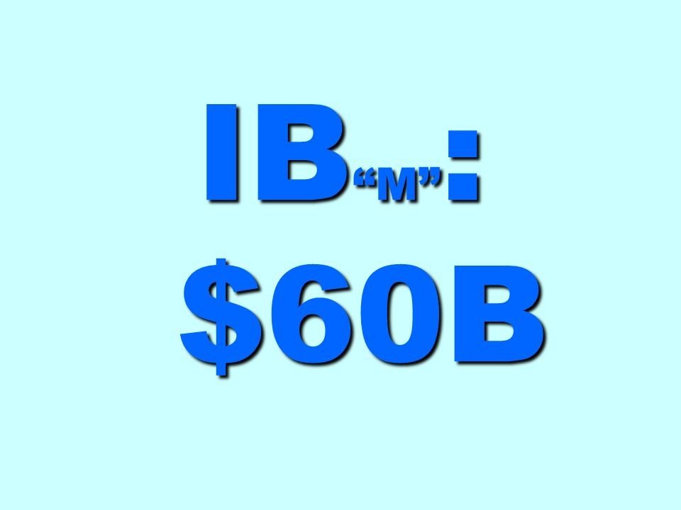 IB M : $60B