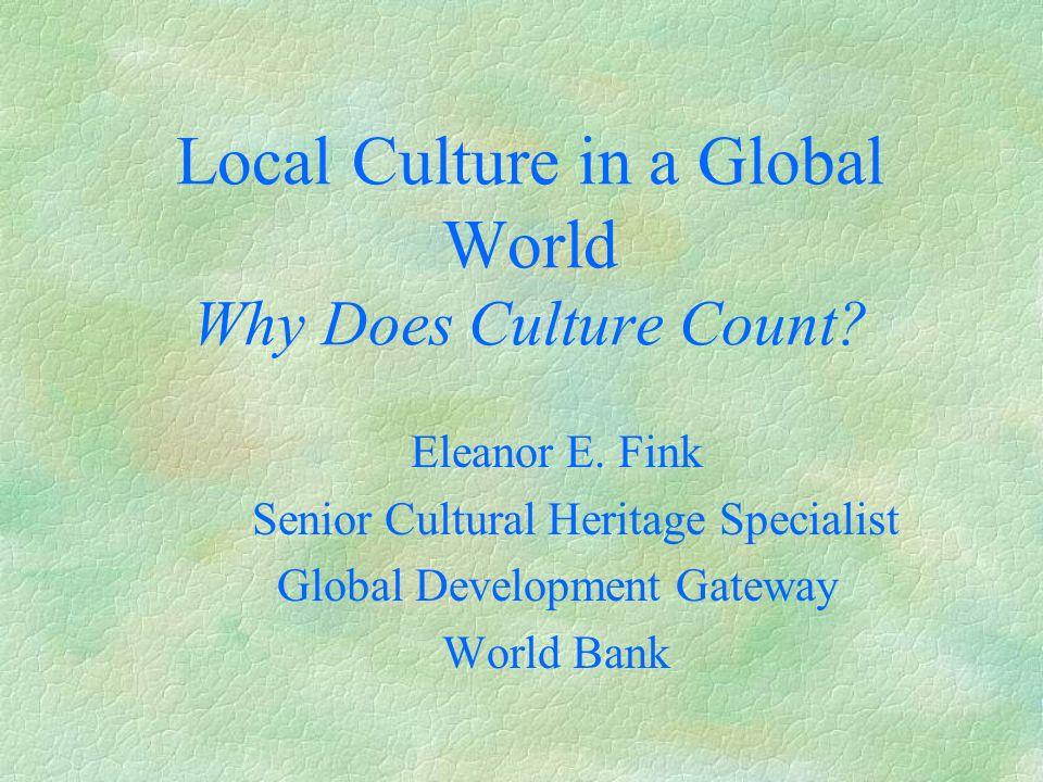 Global Development Gateway cont.