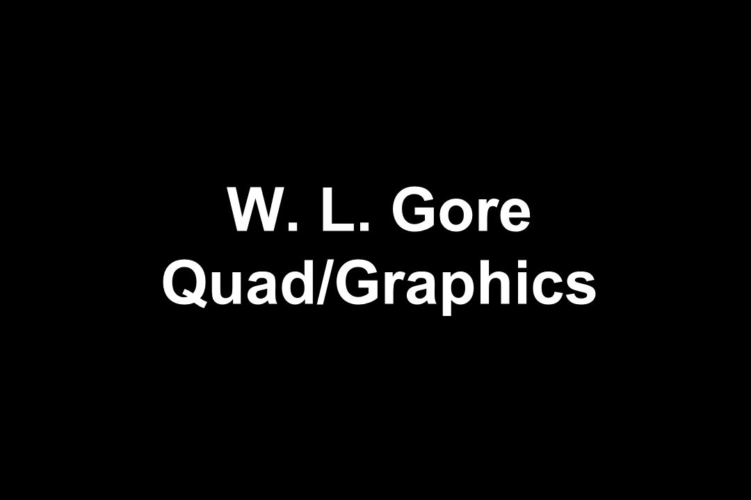 W. L. Gore Quad/Graphics