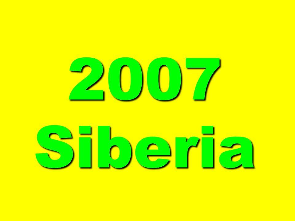 2007 Siberia