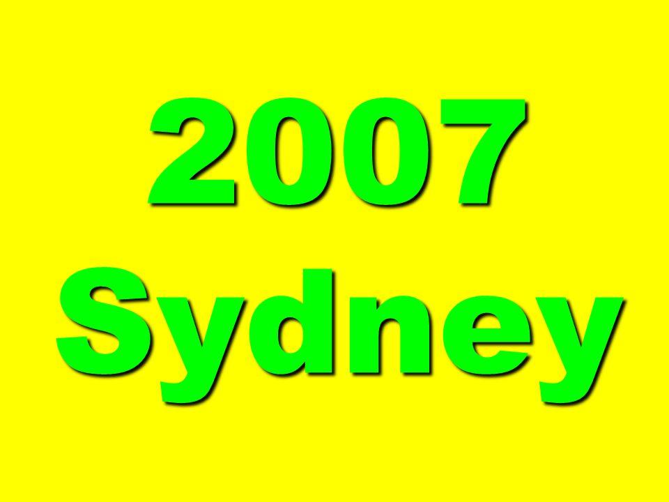 2007 Sydney
