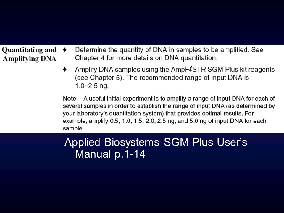 Applied Biosystems SGM Plus Users Manual p.1-14