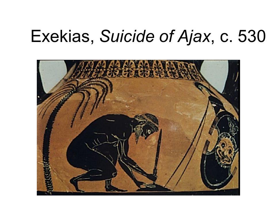 Exekias, Suicide of Ajax, c. 530