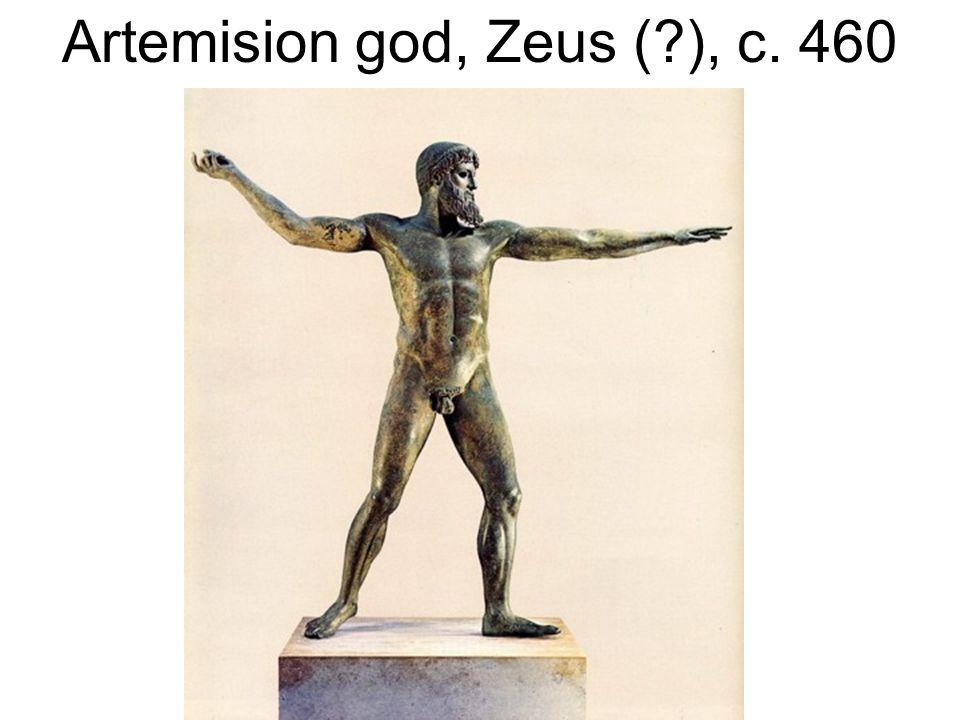 Artemision god, Zeus (?), c. 460