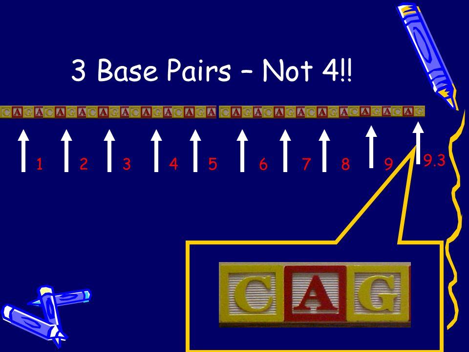 4 Base Pair Repeat at THO1 1234567899.3