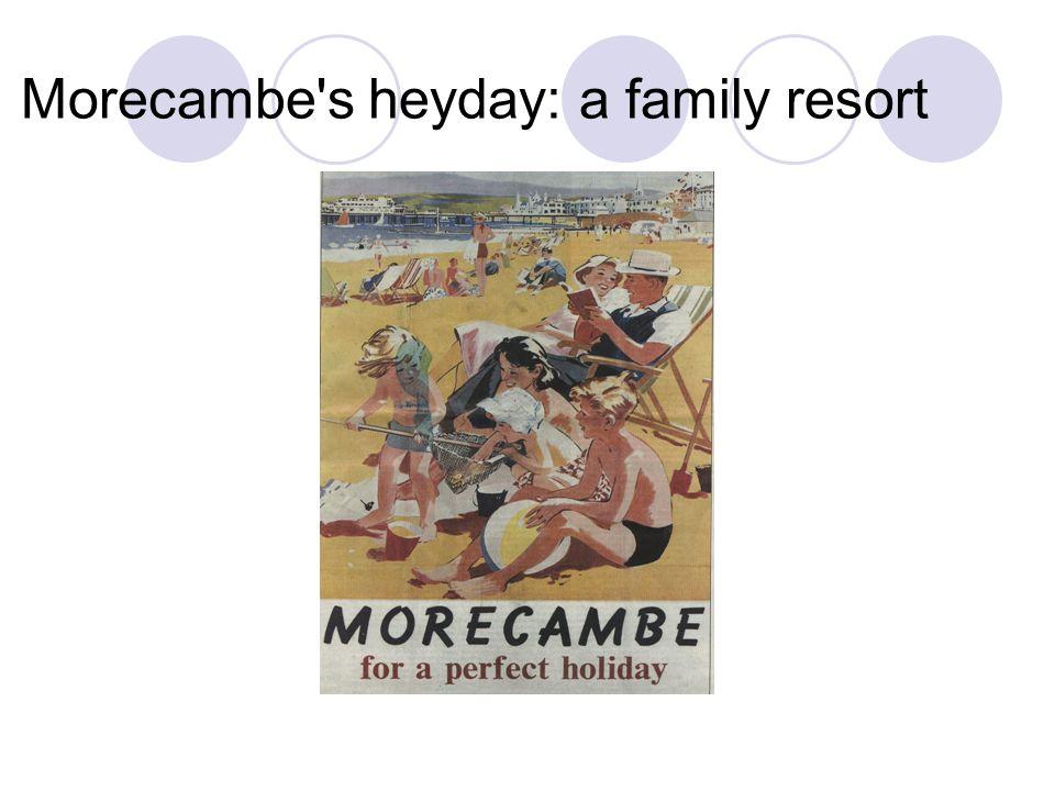 Morecambe's heyday: a family resort