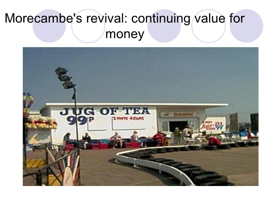Morecambe's revival: continuing value for money