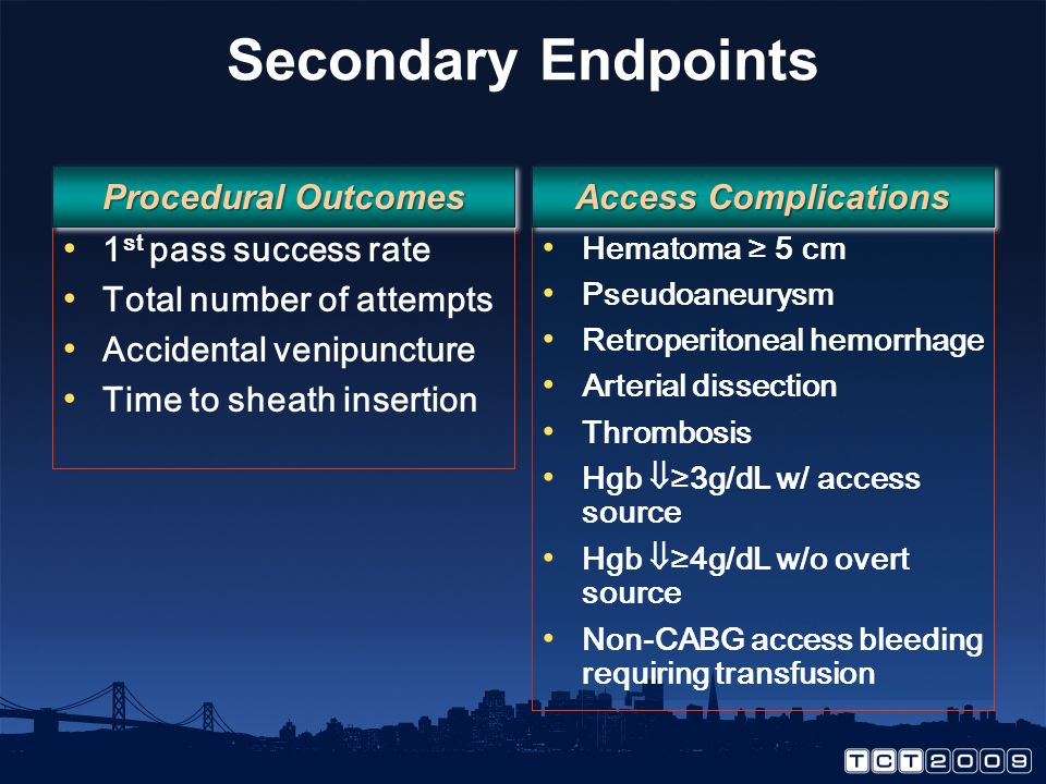Summary US guidance is not superior to fluoroscopic guidance in achieving CFA placement, except in patients with a high bifurcation.