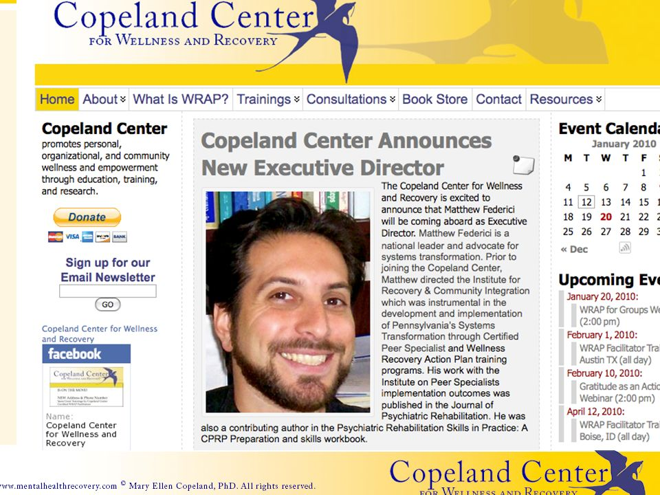Copeland Center Website