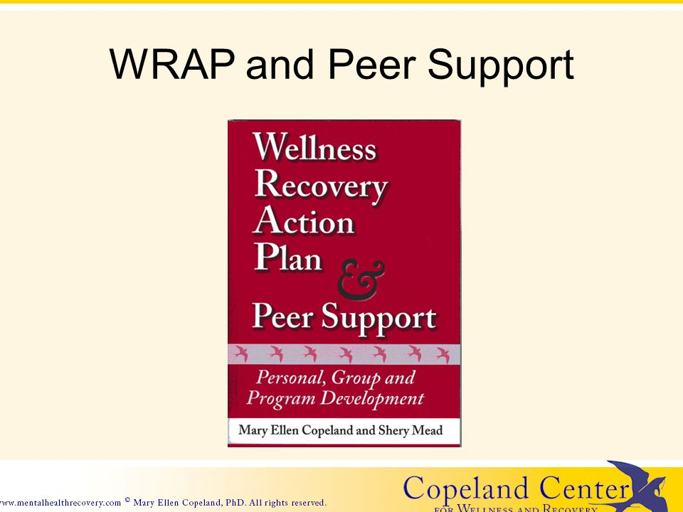 WRAP and Peer Support