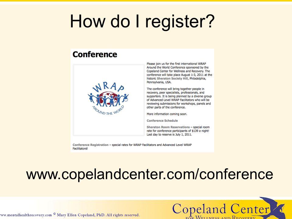 How do I register www.copelandcenter.com/conference