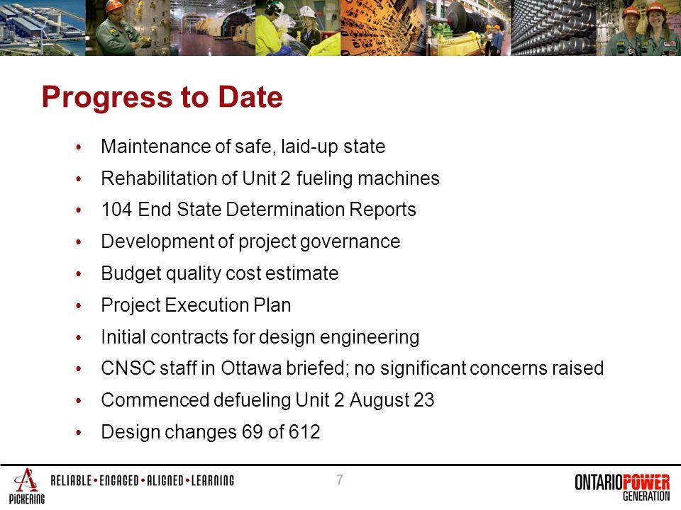 6 Schedule - Milestones