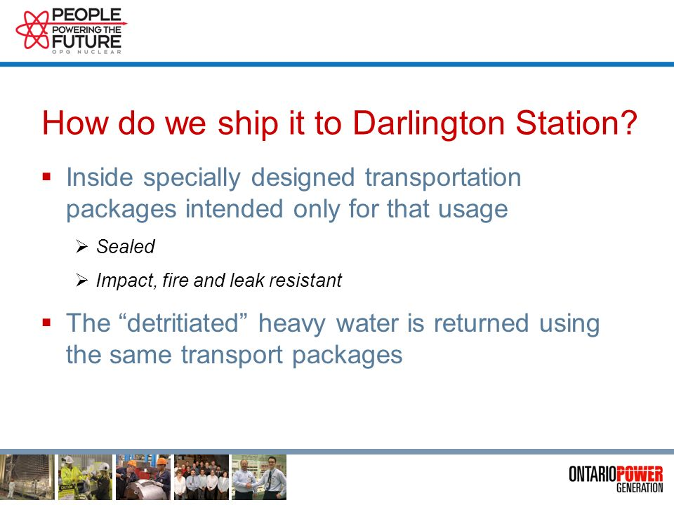 Why do we ship it to Darlington Station.