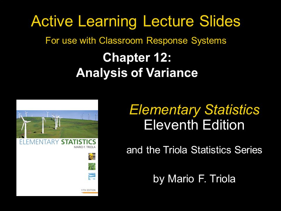 Slide 12- 1 Copyright © 2010, 2007, 2004 Pearson Education, Inc.