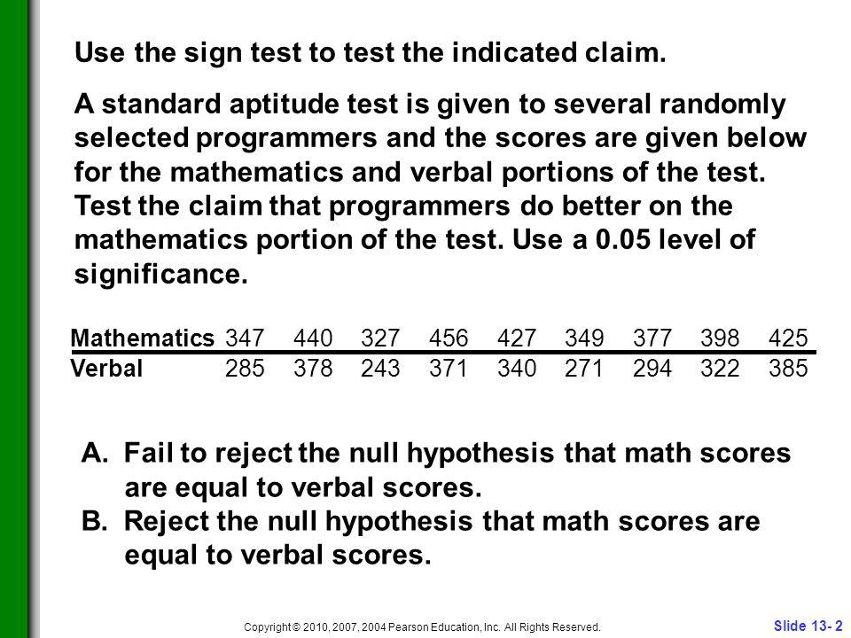 Slide 13- 3 Copyright © 2010, 2007, 2004 Pearson Education, Inc.