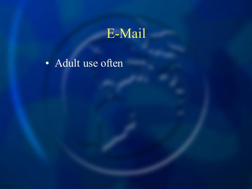 E-Mail Adult use often