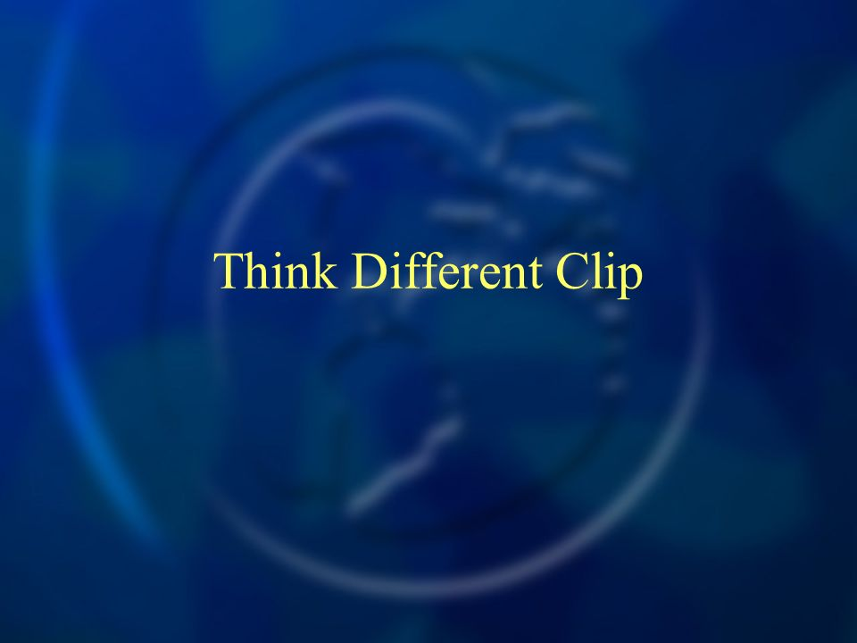 Think Different Clip
