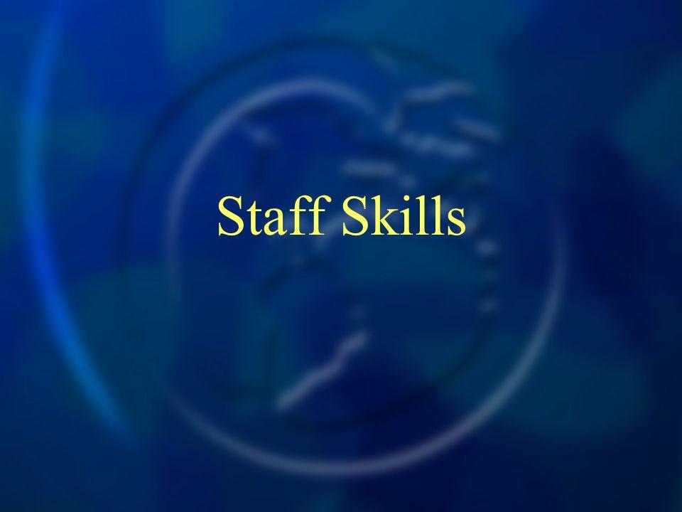 Staff Skills