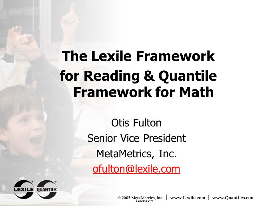 Lexile.com Data: National Adult Literacy Study (1992) Reader measure (in Lexiles)
