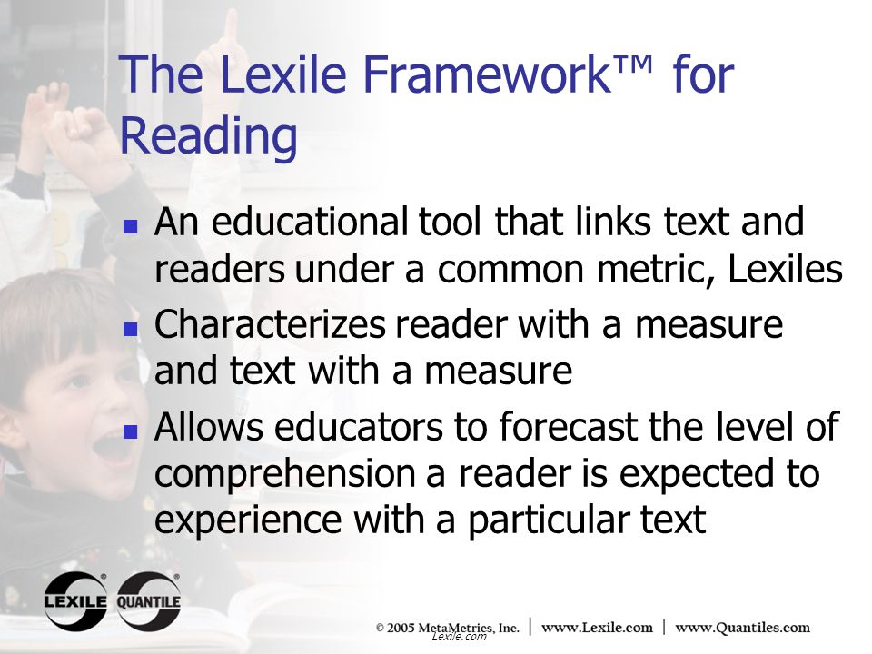 Lexile.com QTaxons What is a QTaxon.Where did list of QTaxons come from.