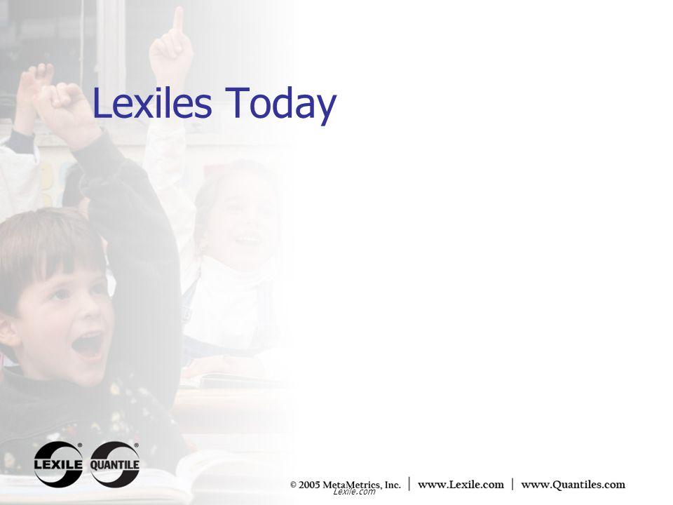 Lexile.com Adult text demands 1100L to 1400L